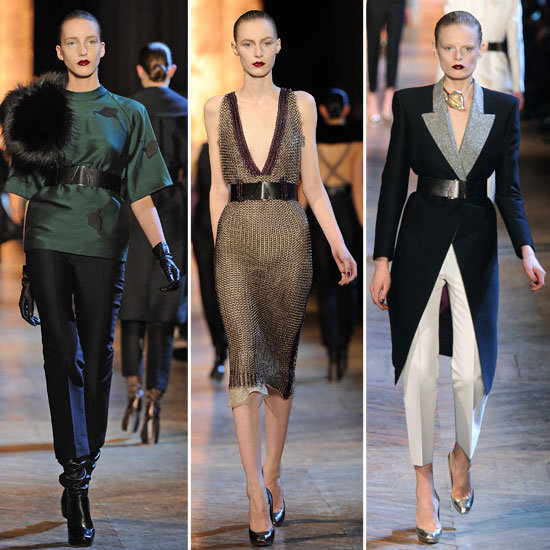 Yves Saint Laurent Fall 2012 | POPSUGAR Fashion