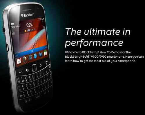 Get in touch much better with Blackberry 9930