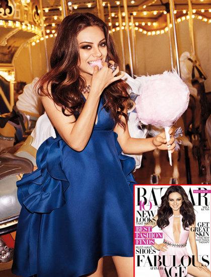 Mila Kunis Talks Botox and Big Bums in Harper's Bazaar