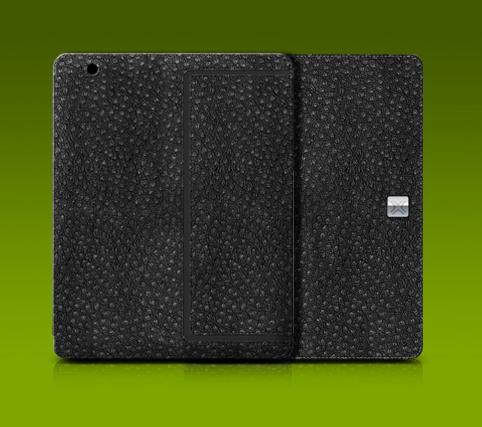 Thin Ostrich folio for iPad 2 ($50)