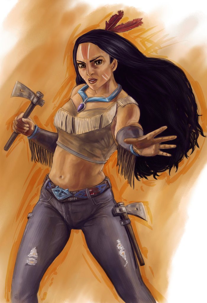 Fighter Pocahontas