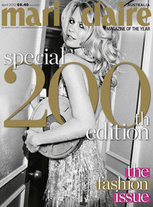 Marie Claire Australia 200th Edition Fashion Issue: Get a Preview of the Super Sized All Fashion Issue On Sale Now!