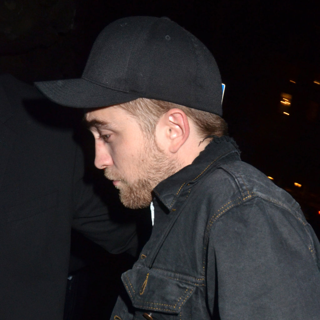 Robert Pattinson headed home from a night out in Paris.