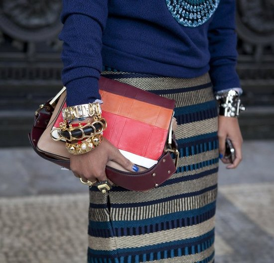 Paris Fashion Week Street Style Shoes, Accessories Fall 2012