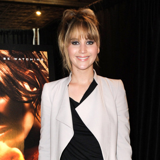 Jennifer Lawrence Promoting Hunger Games in Miami Pictures