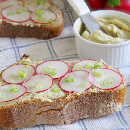 Spring Radish Sandwich Recipe