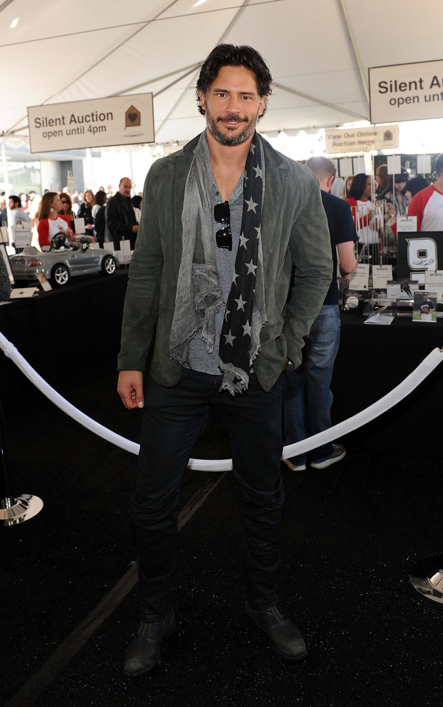 Joe Manganiello struck a pose.
