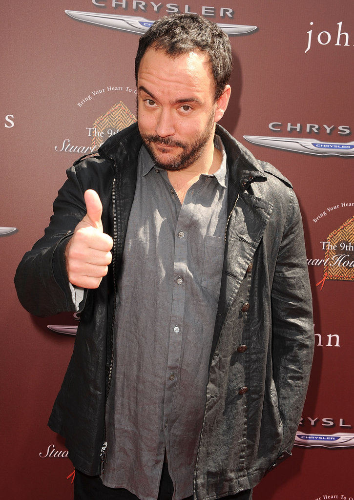 Dave Matthews hit the red carpet at the John Varvatos Stuart House benefit.