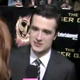Josh Hutcherson The Hunger Games Premiere Interview Video