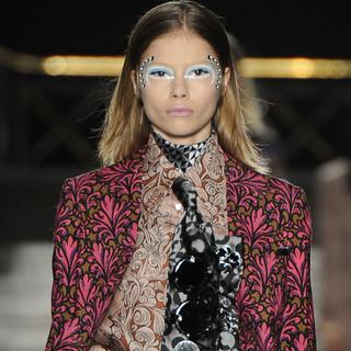 Paris Fashion Week Trend Report: Textural Prints