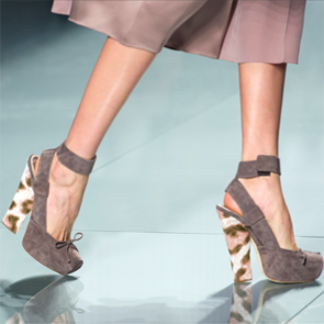 Ankle Strapped Heels Dominated the 2012 Autumn Winter Paris Fashion Week Runways! Scope All the Designer Shoes on Show!