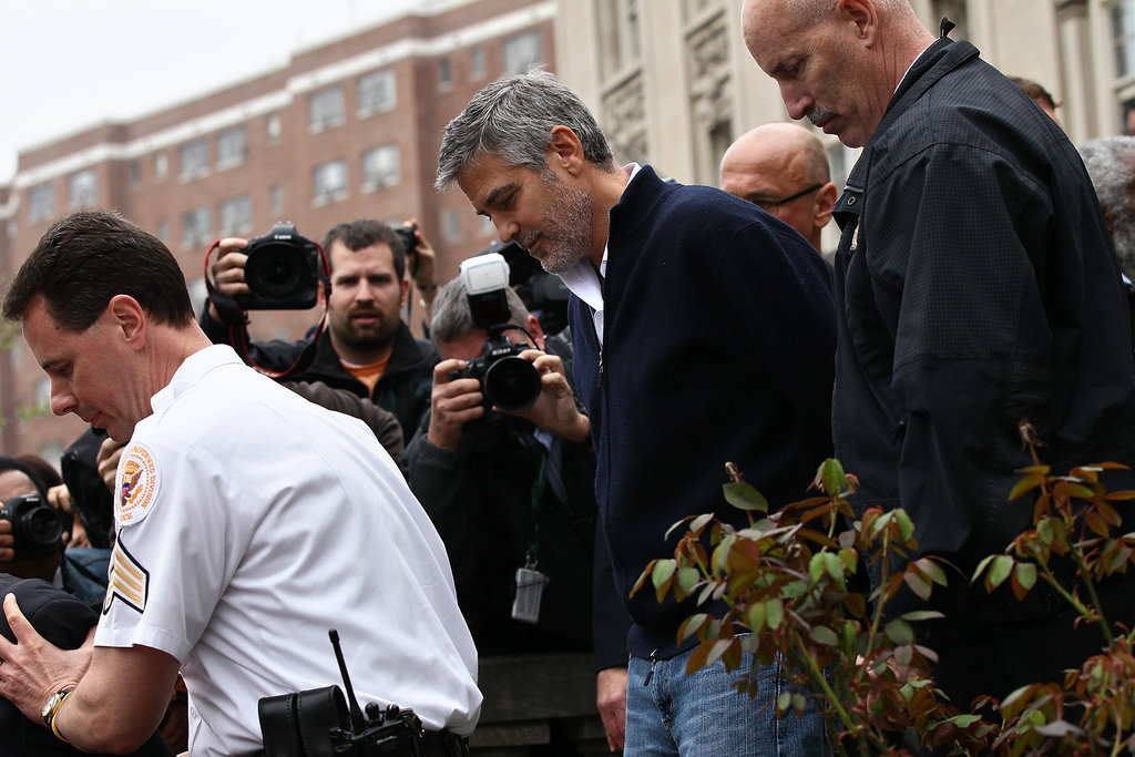 George Clooney Arrested at Protest in Washington DC
