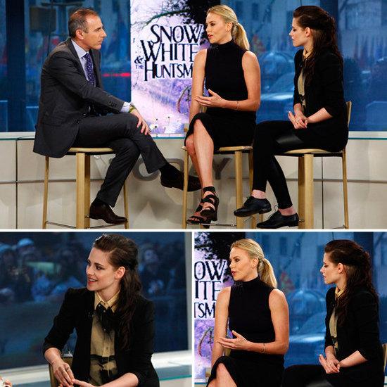 Kristen Stewart Today Show in NYC