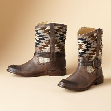 SHIRLEY HARNESS BOOTS BY FRYE®