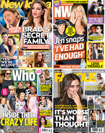 Australian Weekly Magazine Round Up for March 26th 2012 With New Idea, Famous, OK! and Who