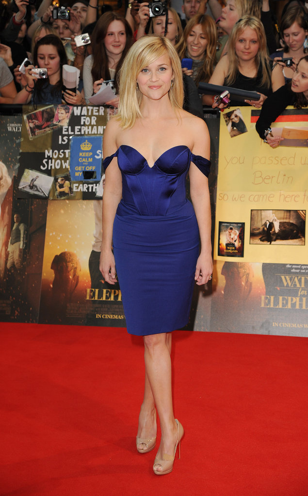 Reese Witherspoon in Stella McCartney at 2011 Water For Elephants London Premiere