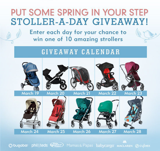 Enter to Win LilSugar's Stroller-a-Day Giveaway!