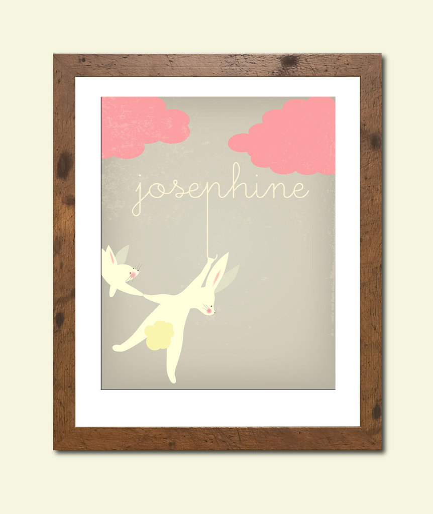 Personalized Bunny Artwork ($28)