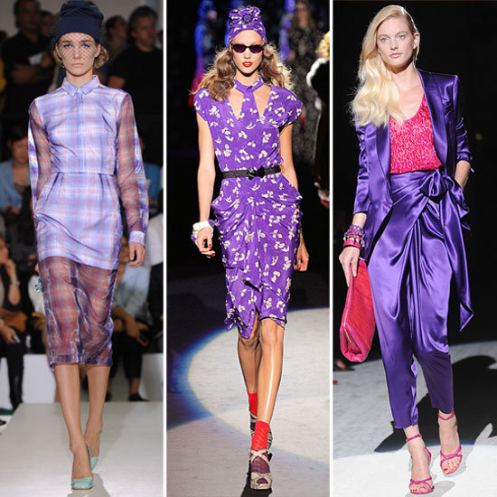 Spring 2012 Color Report: Pops of Purple