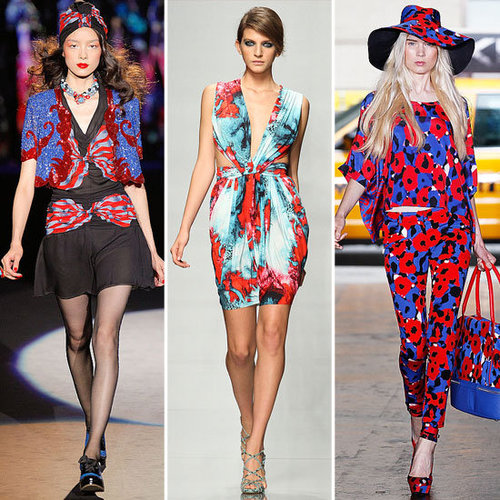 Spring 2012 Cool Color Combo: Blue + Red