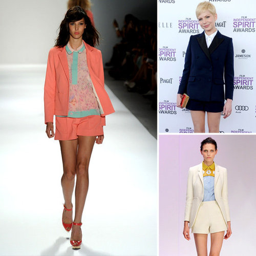 Shake Up a Spring '12 Trend: Pair Shorts   Blazers For a Fresh Look