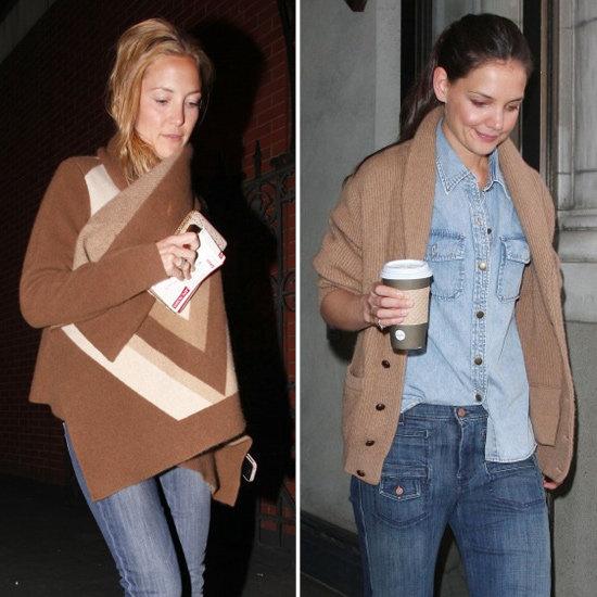 Kate Hudson Suede Fringe Boots