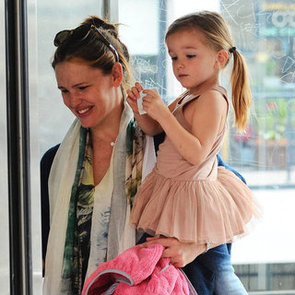 Jennifer Garner and Seraphina Pictures in LA