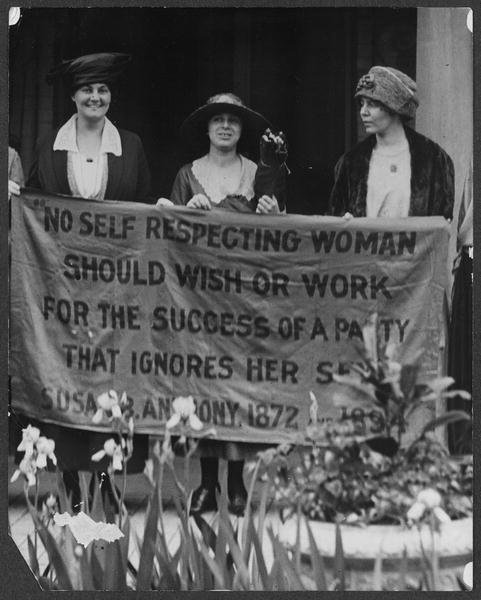 Women's Suffrage in US, 1920