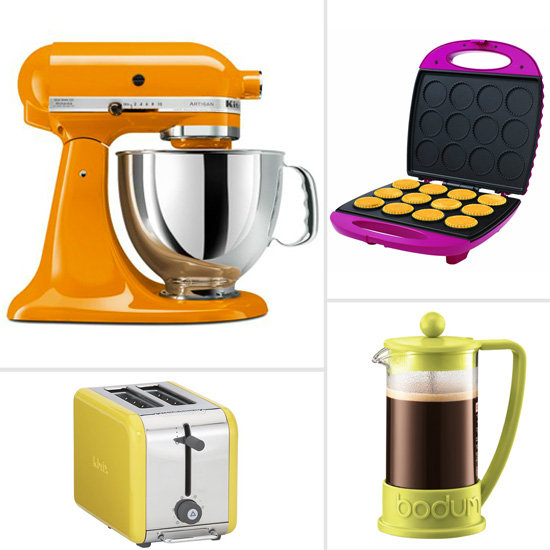 Colorful kitchen appliances popsugar food for 0 kitchen appliances