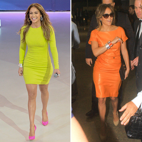 Jennifer Lopez Goes Bold and Bright For Her Fans in Brazil