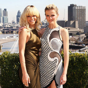 Rihanna, Brooklyn Decker and Taylor Kitsch Pictures Promoting Battleship in London