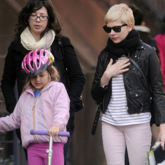 Michelle Williams in Brooklyn Pictures With Matilda