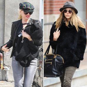 Gwen Stefani Plaid Newsboy Hat