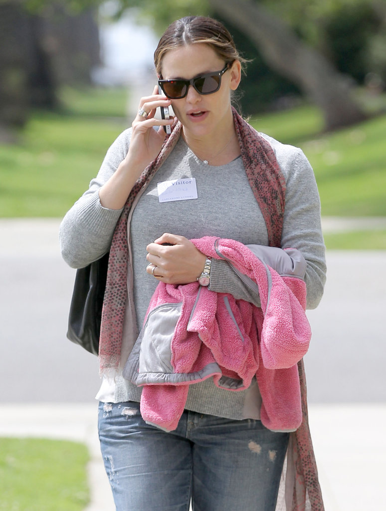 Jennifer Garner Resumes Her School-Day Routine While Ben Considers a Political Role