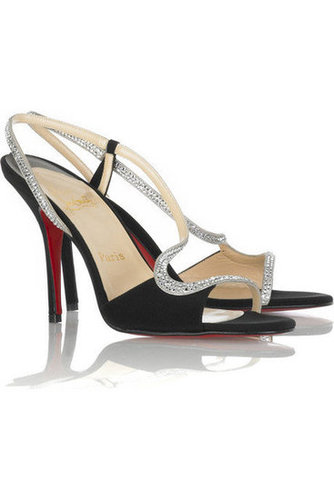 Christian Louboutin Alta Perla Strass 100 Sandals Sale