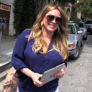 Hilary Duff in Beverly Hills After Baby Video