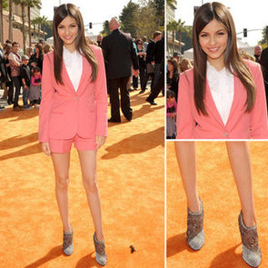 Victoria Justice Kids Choice Awards