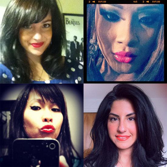 BellaSugar Instagram Challenge Bright Lips Roundup