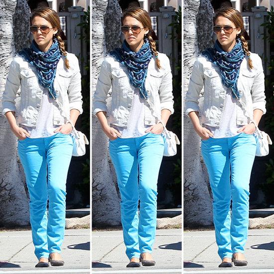 Jessica Alba Blue Jeans