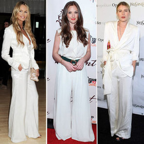 Elle Macpherson, Minka Kelly and Dree Hemingway Try Out the White Suit Trend: Shop The Celebrity Style!