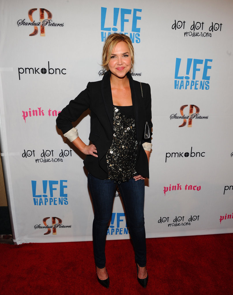 Arielle Kebbel at the premiere of Life Happens.