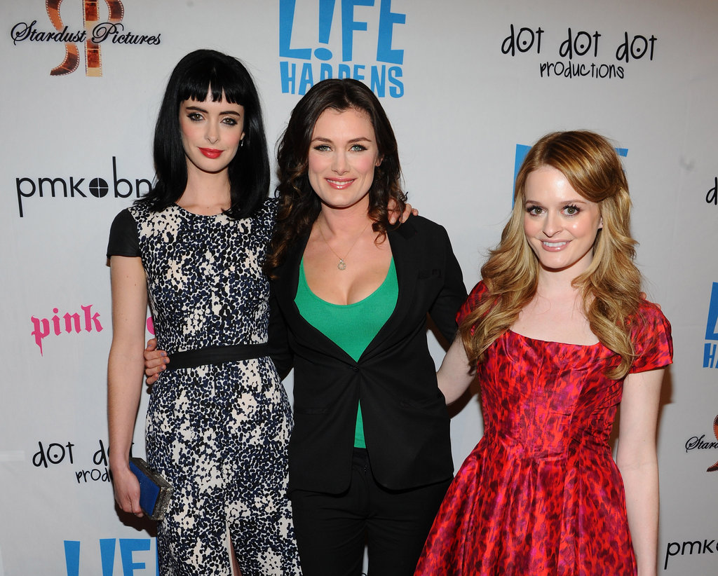Krysten Ritter, Kat Coiro, and Fallon Goodson got together at the premiere of Life Happens.