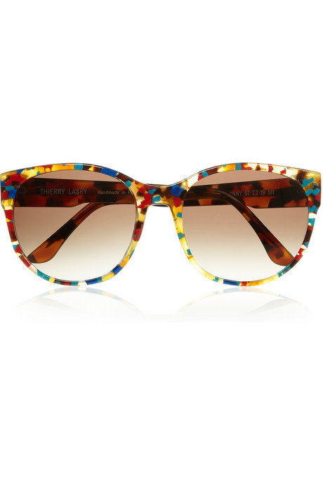 Thierry Lasry Annalinny D-frame Acetate Sunglasses ($385)