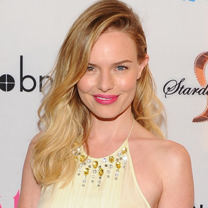 See Kate Bosworth's Bejewelled Prada Dress, JewelMint Accessories and Christian Louboutin Heels