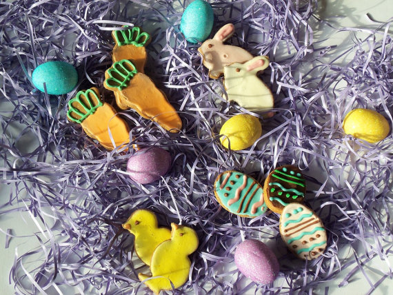 Easter Icon Dog Cookies