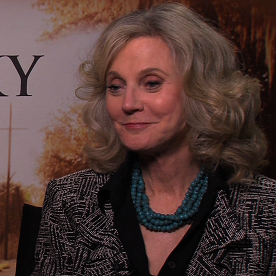 Blythe Danner Interview For The Lucky One