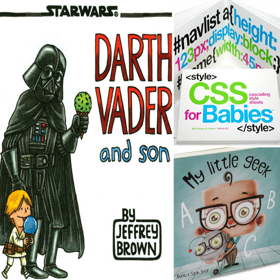 5 Books For Tiny Geek Readers