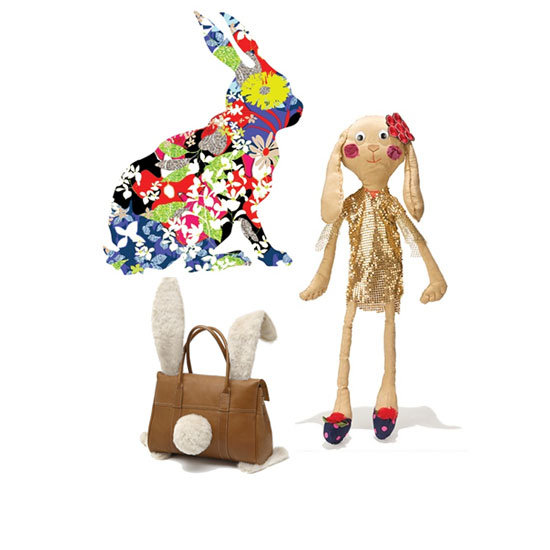 See Vogue.com's Easter Inspired Rabbit Creations by Altuzarra, Mulberry, Opening Ceremony, Lulu Frost and more!