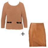 Autumn Winter 2012 Trend to Try and Buy: Leather and Textured Knits