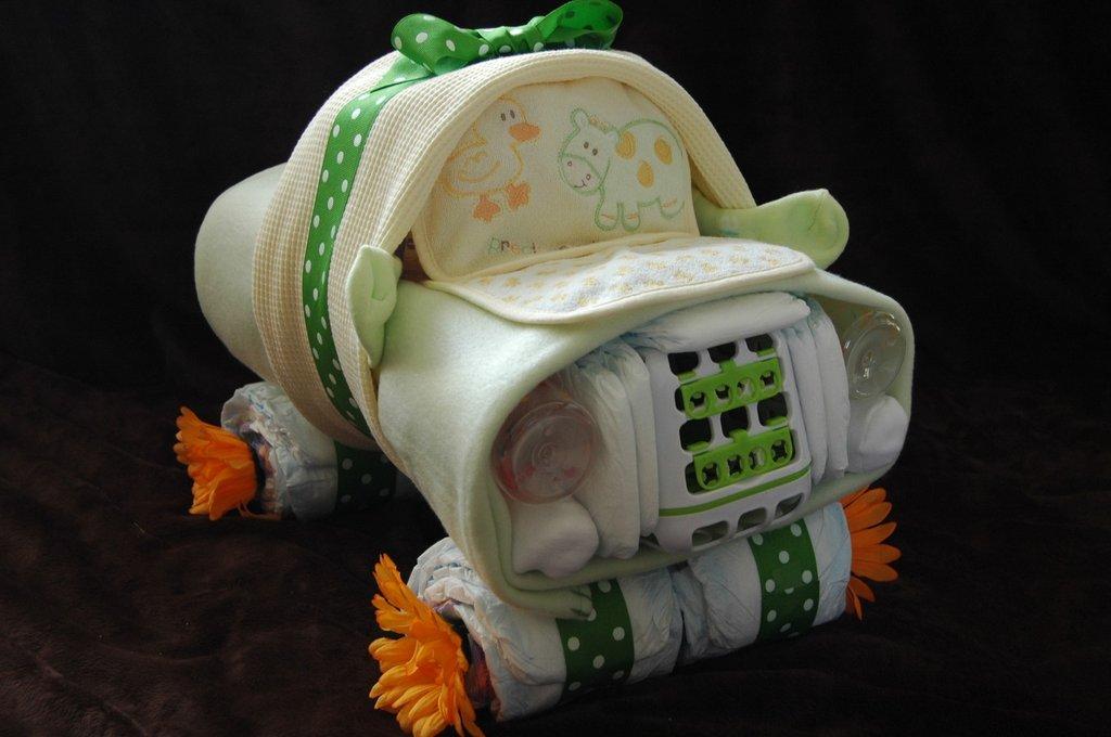 Diaper Cake Car